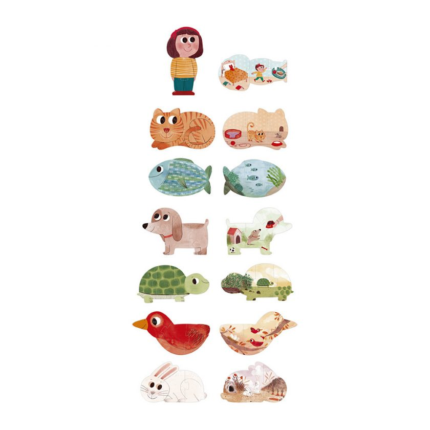 i love my pets puzzle 257626
