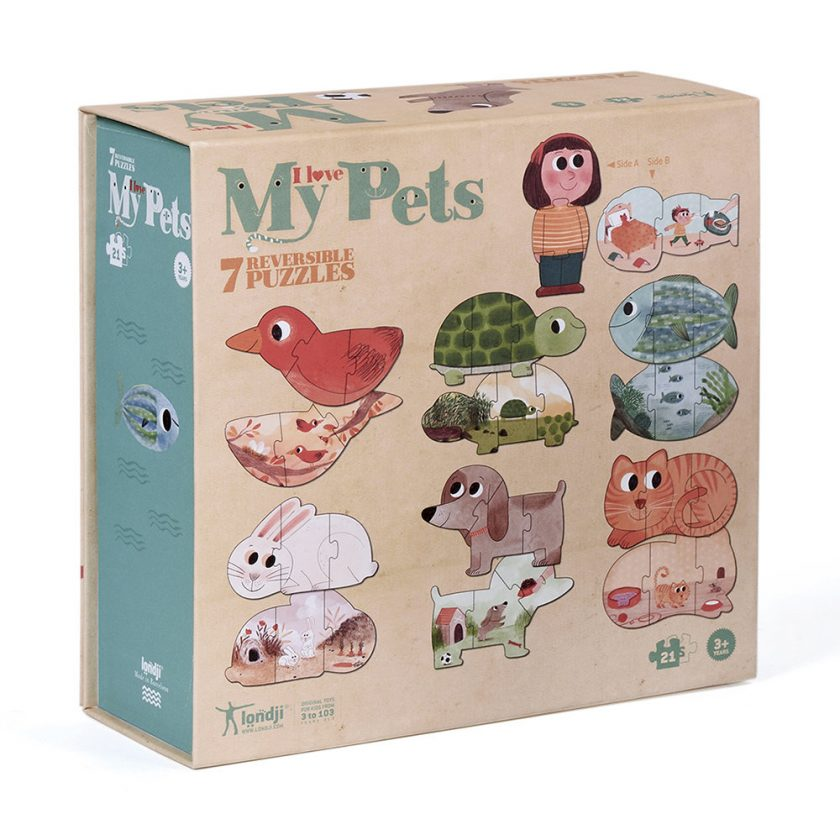 i love my pets puzzle 312422