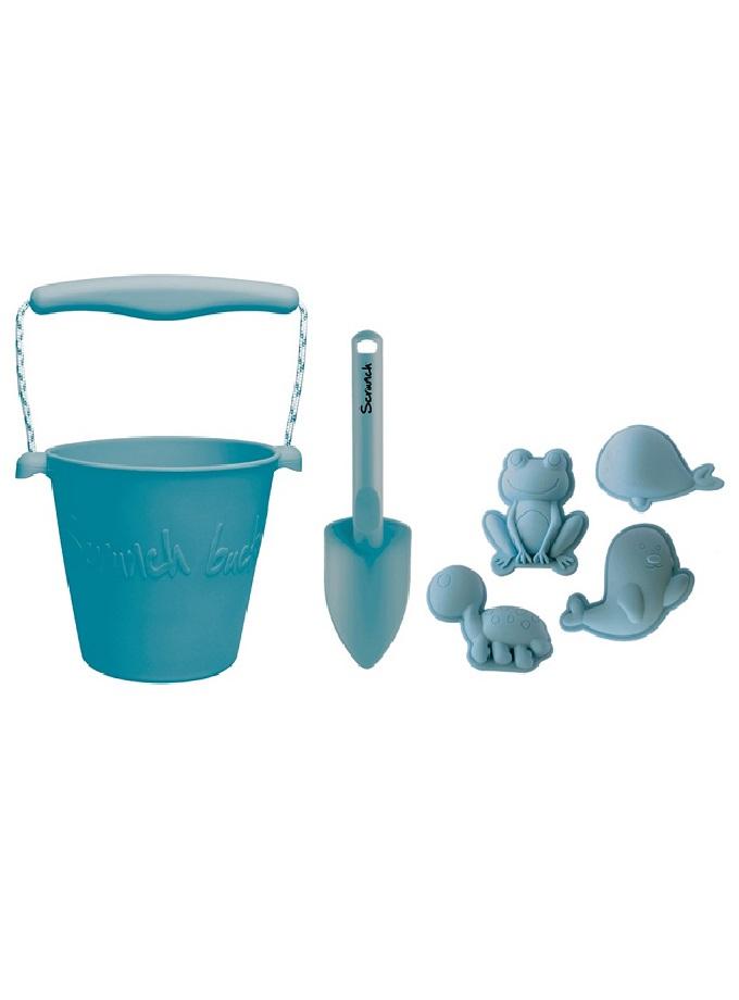 Scruch kit cubo pala moldes azul Saltimbanquikids