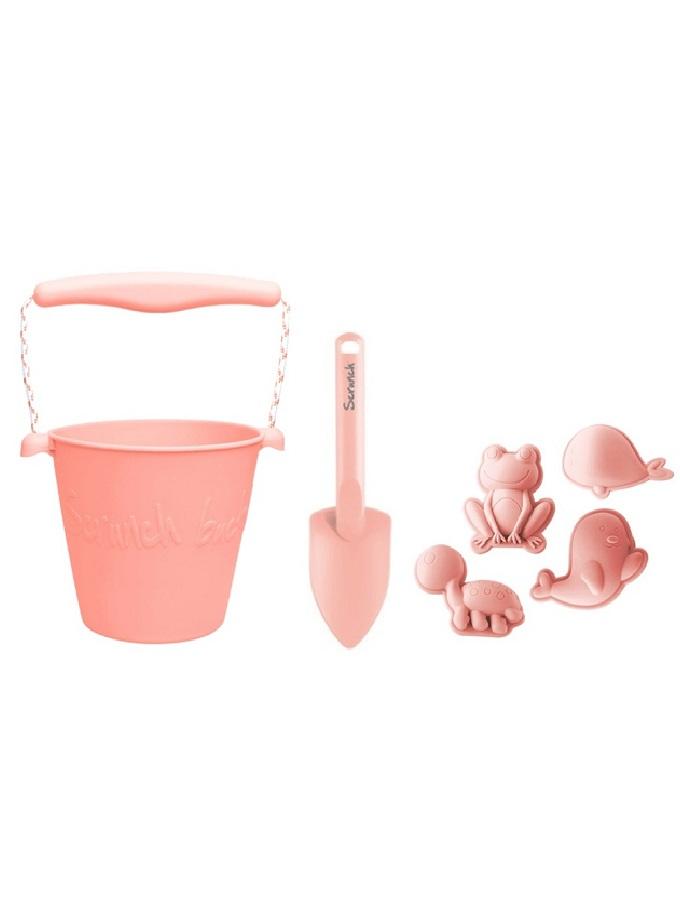Scruch kit cubo pala moldes rosa