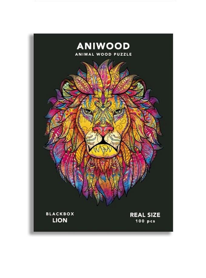 puzle aniwood leon s Saltimbanquikids