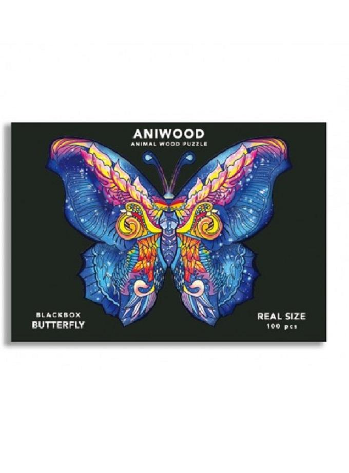 puzle aniwood mariposa s Saltimbanquikids