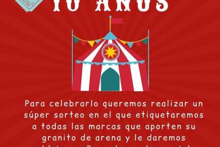 10 aniversario Saltimbanquikids