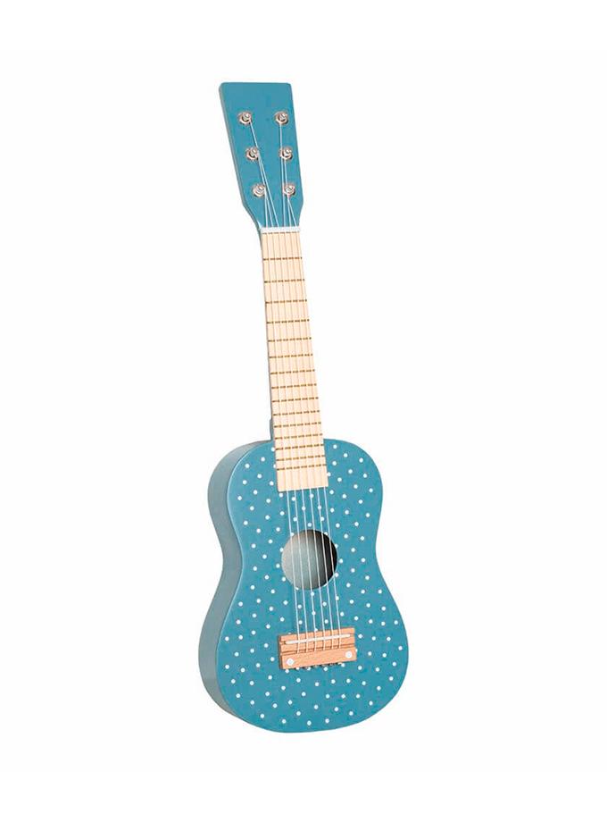 Guitarra azul Jabadabado Saltimbanquikids