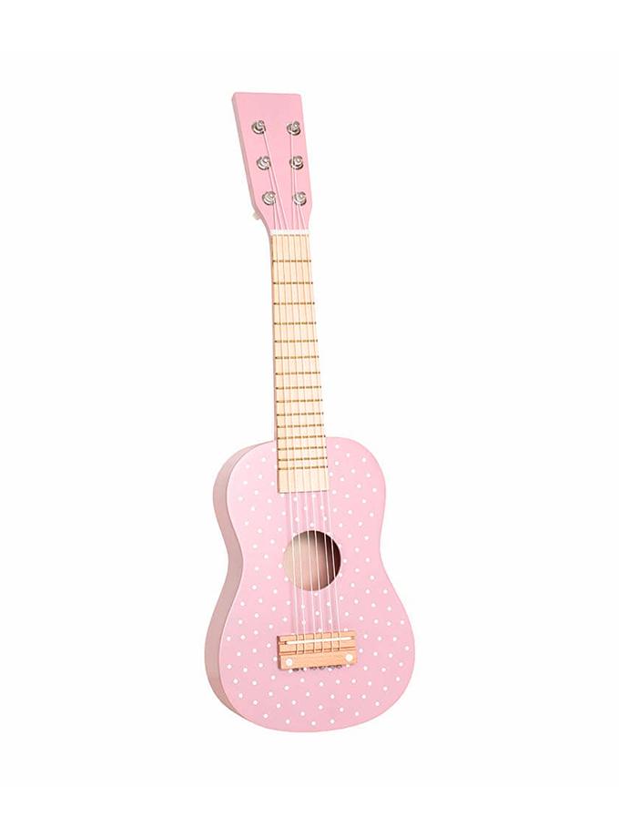 Guitarra Rosa Jabadabado Saltimbanquikids