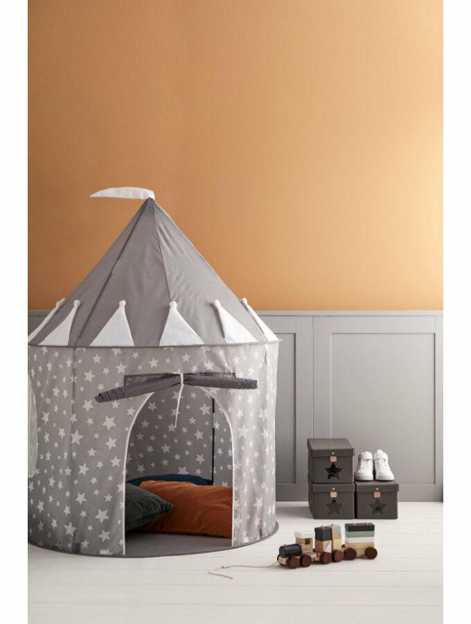 Tienda de Campanya Star gris Kids Concept Saltimbanquikids